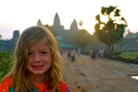 Angkor Wat, Cambodia sunrise