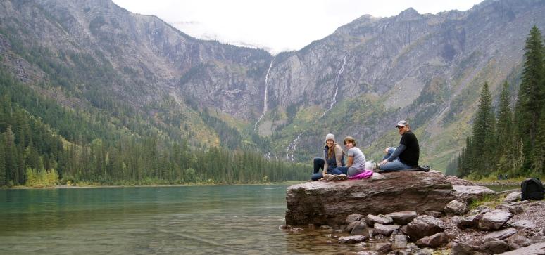 Avalanche Lake in Glacier National Park