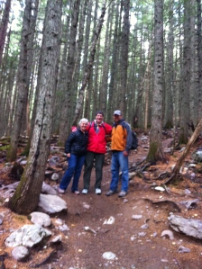 Running into Mark & Kathy on the trail