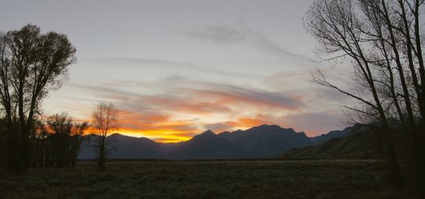 Sunset @ Grand Teton NP