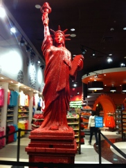 Red Vine Statue of Liberty
