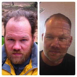 Thank you, Matt Medina, for Jason's before and after!