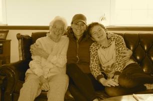 Wendy's great grandma Bunny still rockin' at 90!