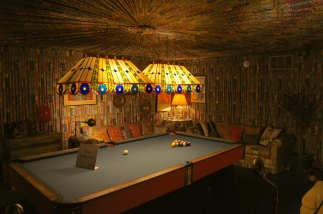That's what I call a man cave