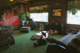 "The famous ""Jungle Room"""